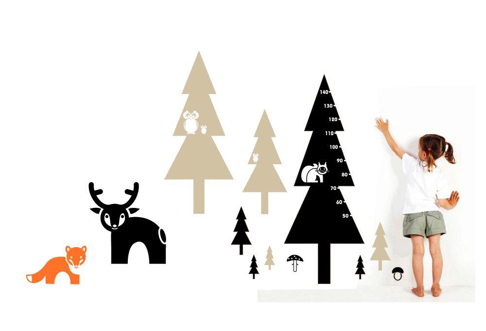 Dětský pokoj na téma les