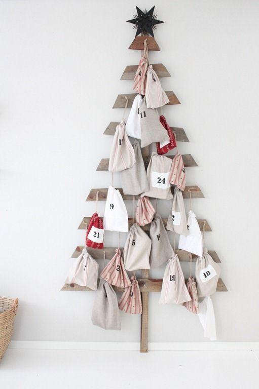 Adventní kalendář na stromečku
