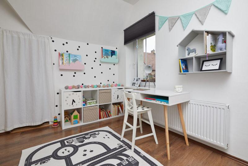 Dětský pokoj s puntíky