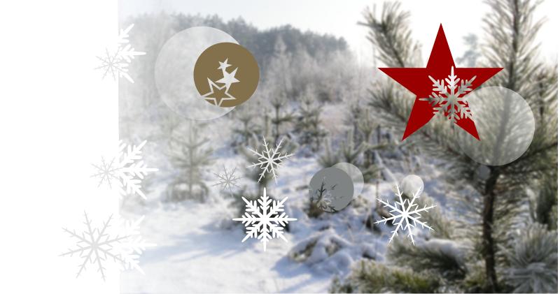 Vánoční samolepky na okno bez nevzhledné průhledné folie
