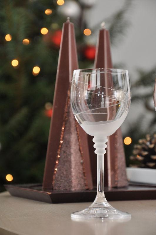 Sklenice na víno od Bohemia crystal glass