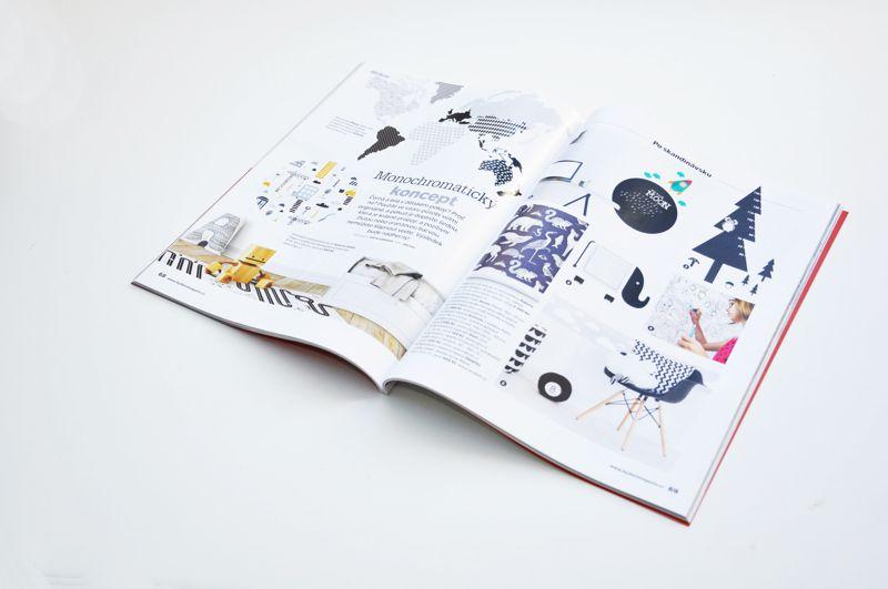 Metr Strom se sovou od Pieris design v časopise Bydlení