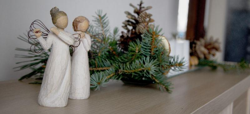 Letošní vánoční dekorace u nás doma