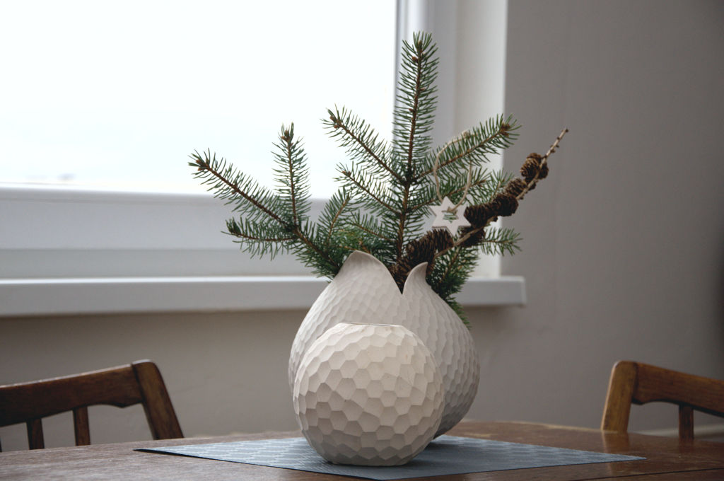 Váza a svícen Asa selection Carve