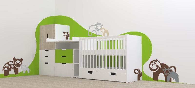 Pokojíček nebo koutek pro miminko a batole – inspirace a pár rad jak na to
