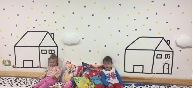 Dětský pokoj aneb hvězdy pro holčičku i kluka